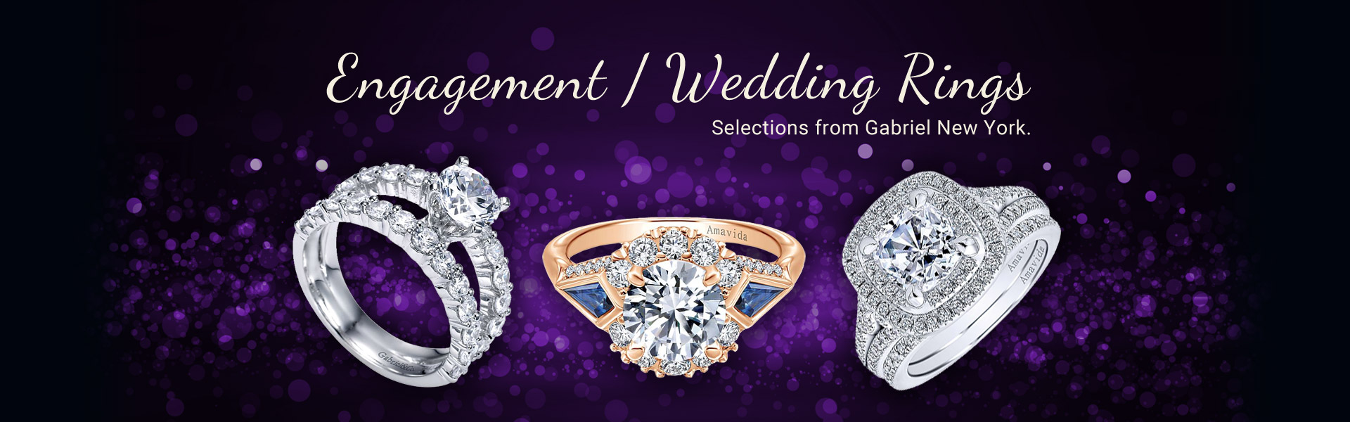 Gabriel New York - Engagment and Wedding Rings